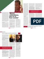 Ollanta Humala, Revista Debate, Nº 156