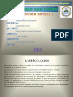 Proyeccion Social i Sanitarias Sustentacion