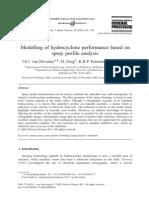 Modelo Performance Hidrociclon Basado en Analisis Descarga
