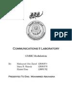 GMSK Modulation