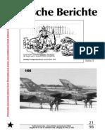 Politische Berichte Nr.21 / 1998