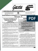 Gaceta Acuerdo 215-A-2006 Organismo Nacional Normalización