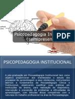 Pós-graduação em Psicopedagogia Institucional (Semipresencial) - Grupo Educa+ EAD