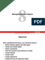 Oracle DB 11g - Managing Schemas for DBAs