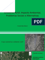 Ambiente Rural e Degradação Ambiental
