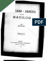 Tan Malaka. Nasrani-Yahudi Dalam Tinjauan Madilog.