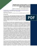El Dualismo Explicación-Comprensión en la Metodología de la Investigación