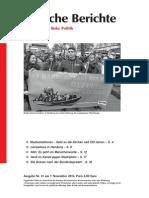 Politische Berichte Nr.11 / 2013