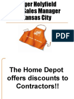 Home Depot Discounts Power Point
