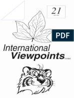 International Viewpoints Issue 21