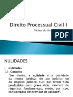 Direito Processual Civil I - Nulidades