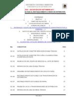 TULA Especificaciones de Mantto en RDs Conceptos Tul 2012