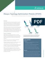 SIMULIA Abaqus Topology Optimization Module