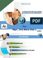 Planificación didáctica Basada en competencias