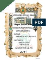 Informedepracticas 110227152534 Phpapp01.Doc 1