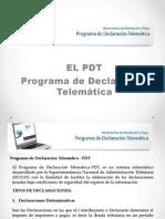 EL PDT (SESION Nº 5)