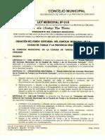 Ley de Libros Municipales
