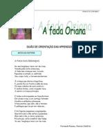 A Fada Oriana Exercicios Para 2 Ciclo