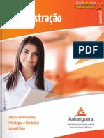 Cead 20132 Administracao Pa - Administracao - Estratagia e Dinamica Competitiva - Nr (Dmi847) Caderno de Atividades Impressao Adm8 Estrategia e Dinamica Competitiva