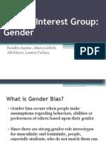 special interest group - gender final 1