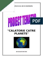 proiect planete