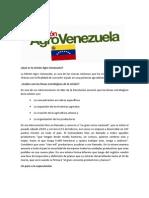 Misi on Agro Venezuela