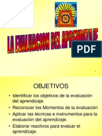 Tema 6 Evaluacion Del Aprendizaje Rccd 2011