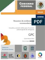 GPC 201-09 Anticoncepcixn de EmergenciaEVR