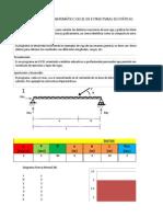 Simulador Matemático EXCEL Estructuras Isostáticas Avance Google Driveee