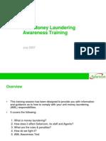 Anti-Money Laundering Awareness Training