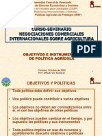 01 Politica Agricola