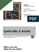 calm spirituality   beliefs