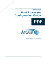 Post Processor Configuration Guide