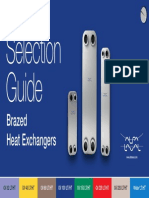 Selection Guide - Brazed Plate Heat Exchangers, North America