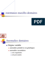 Anomalies Maxillo-Dentaires Daip