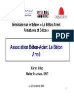Association Acier-beton Le Beton Arme - Karim Miled