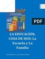 La Educacion y La Familia