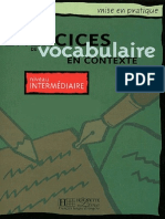 Exercices de Vocabulaire en Contexte Intermediaire Anne Akyuz
