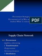 Session IX, X Supply Chain Procurement