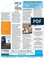 Pharmacy Daily for Fri 29 Nov 2013 - New TGA OTC consultation, TWC Tony Ferguson Buy, ASMI sodium advice, Events Calendar and much more