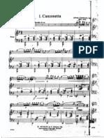Alfredo d'Ambrosio - Canzonetta (Alto Saxophone & Piano)
