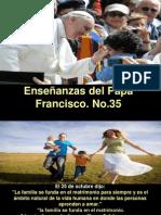 Enseñanzas del Papa Francisco - Nº 35