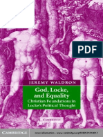 Jeremy Waldron-God, Locke, And Equality_ Christian Foundations in Locke's Political Thought-Cambridge University Press (2002)