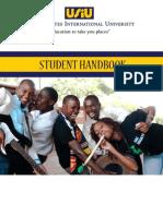 USIU Student Handbook by frog