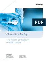 Ms Clinical Leadership White Paper