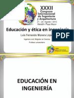 8. EDUCACIÓN Y ÉTICA EN LA INGENIERÍA