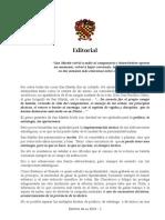 Editorial Sobre San Martin