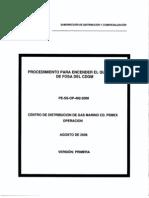 Procedimiento Para Encendido de Un Quemador de Fosa - Pe-ss-op-492-2008