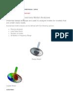 164 - Understanding Prestress Modal Analyses