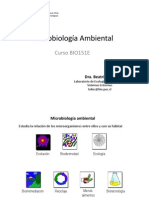 Microbiologia Ambiental BIO151E